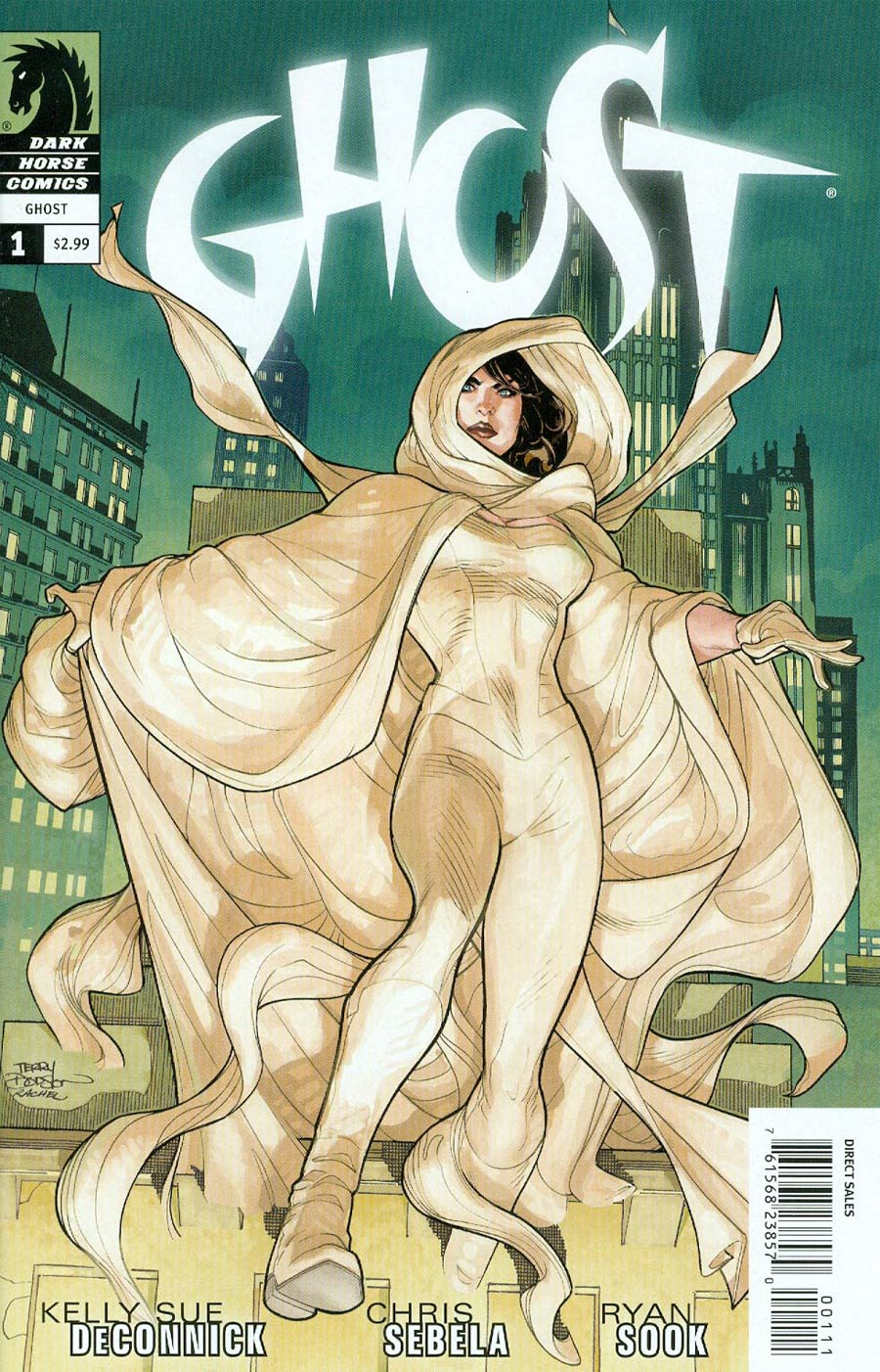Ghost Vol 4 #1 Cover A Regular Terry Dodson Cover
