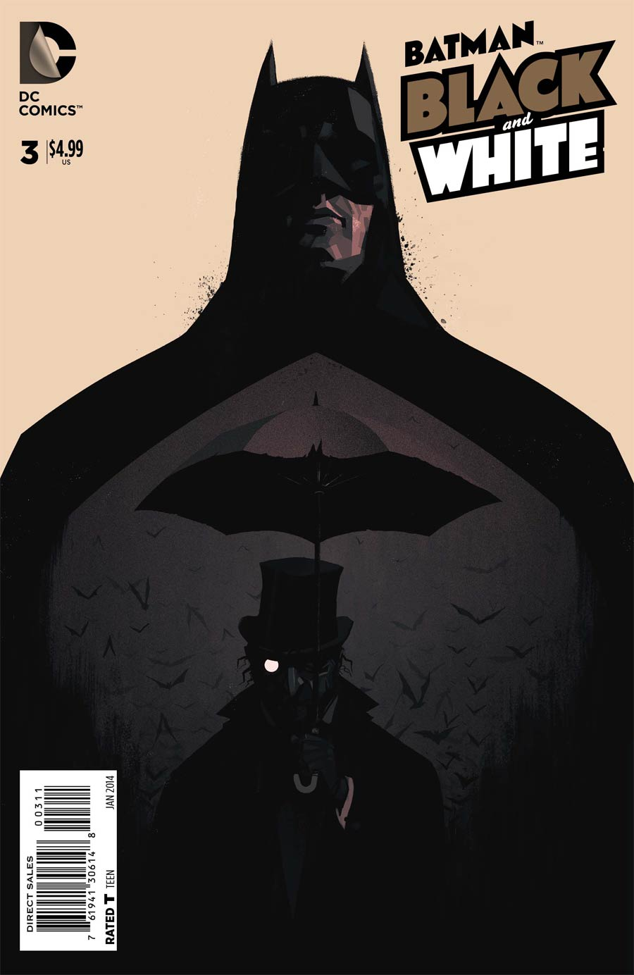 Batman Black & White Vol 2 #3