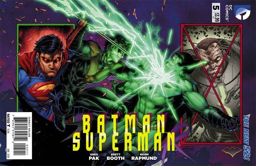 Batman Superman #5 Cover A Regular Brett Booth Cover
