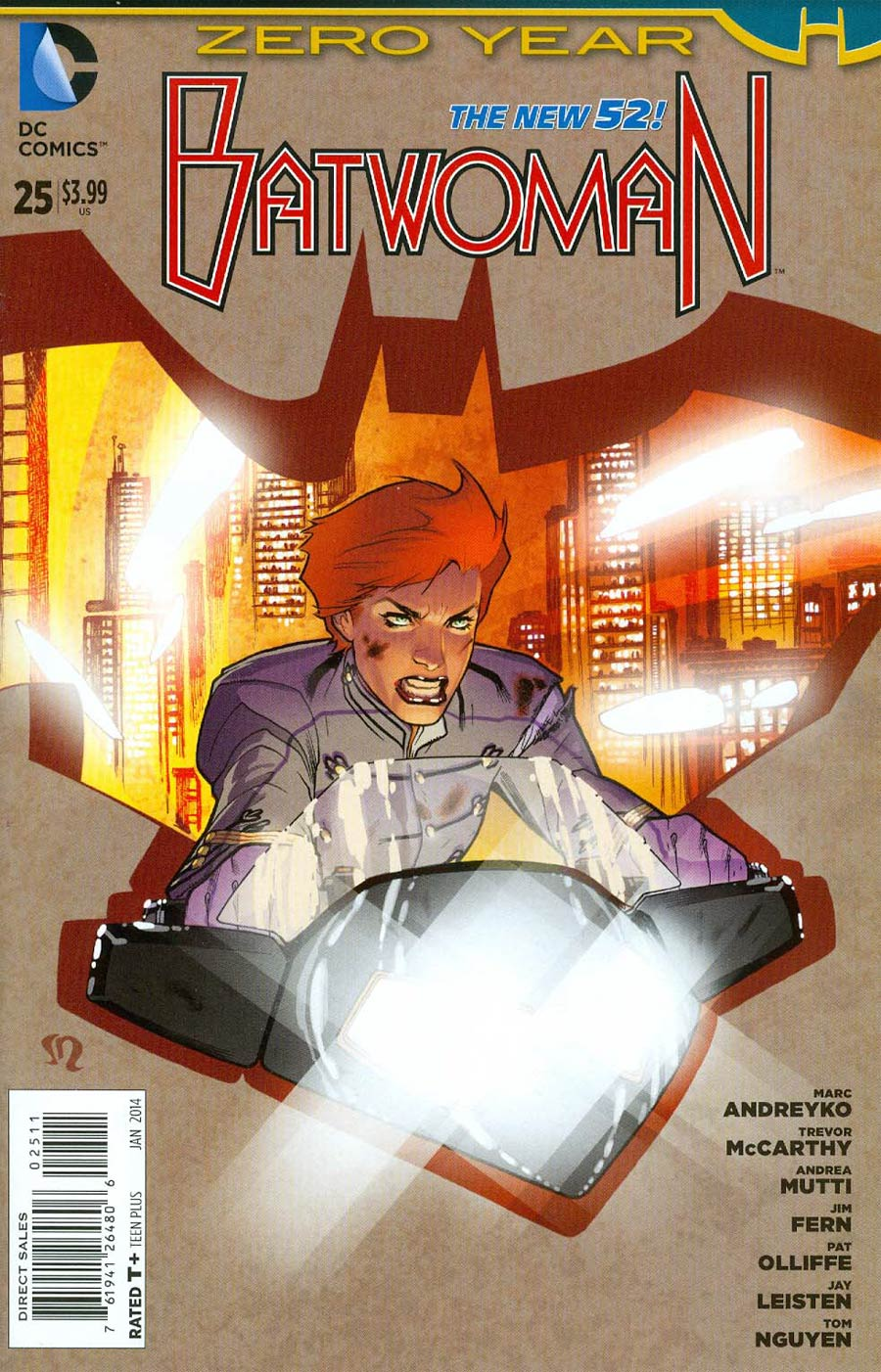 Batwoman #25 Cover A Regular Stephane Roux Cover (Batman Zero Year Tie-In)