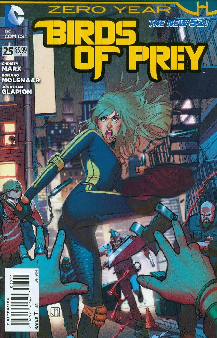 Birds Of Prey Vol 3 #25 (Batman Zero Year Tie-In)