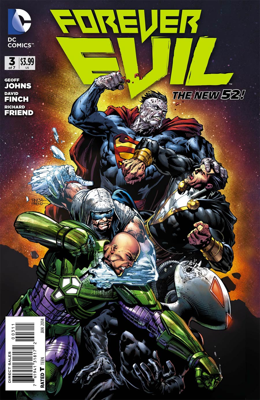 Forever Evil #3 Cover A Regular David Finch Cover