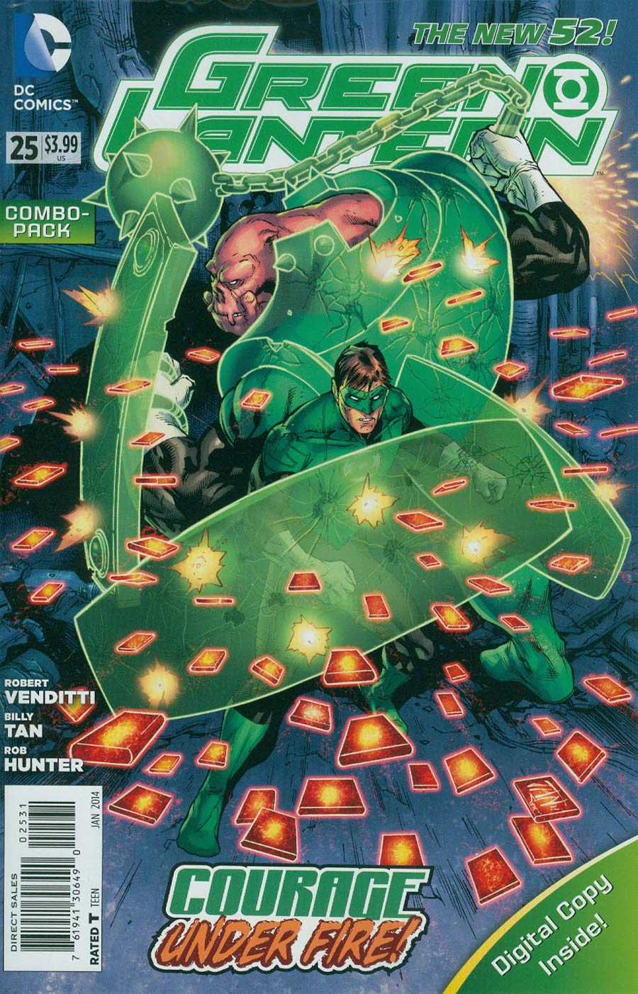 Green Lantern Vol 5 #25 Cover B Combo Pack With Polybag