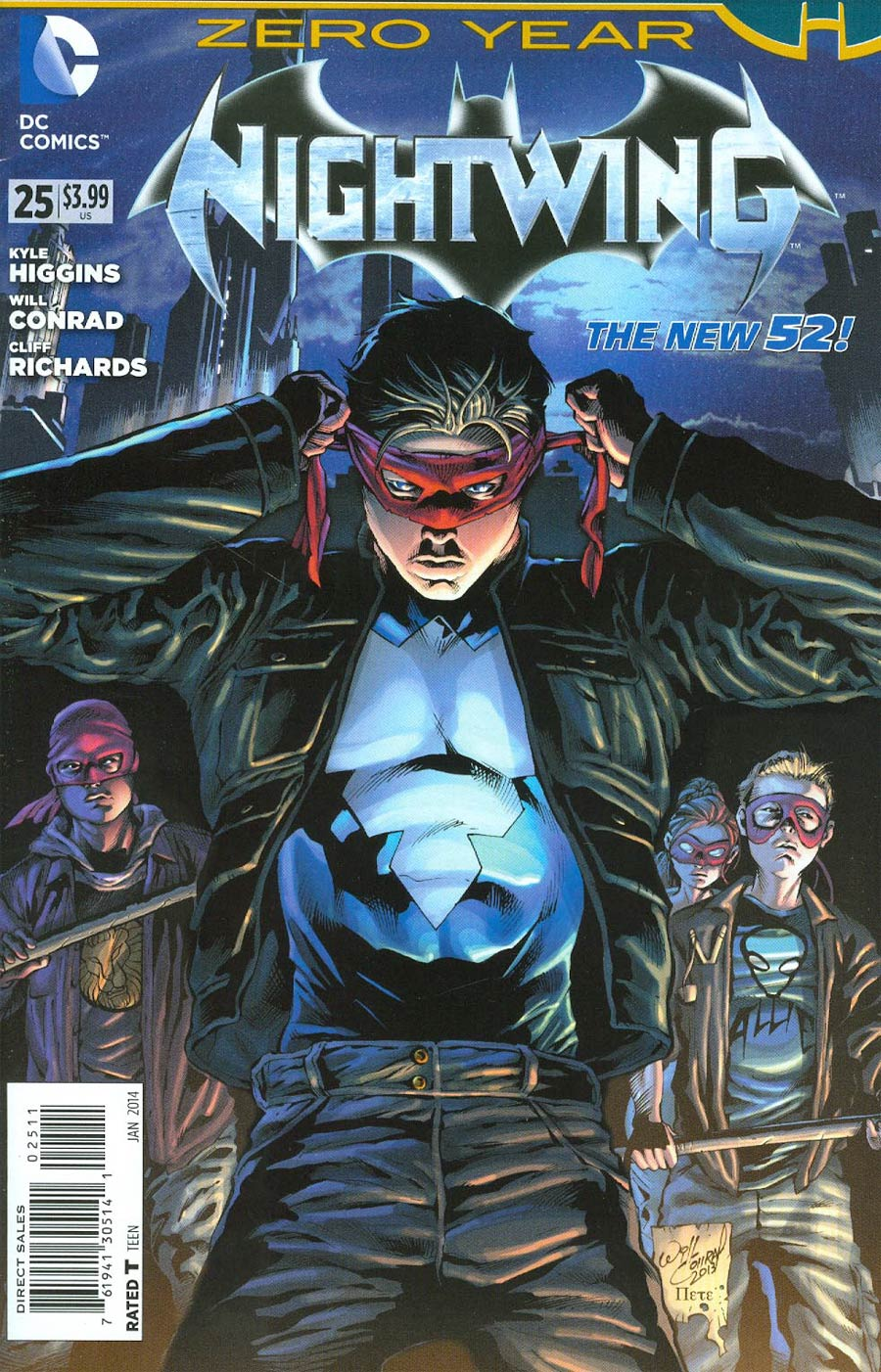 Nightwing Vol 3 #25 (Batman Zero Year Tie-In)