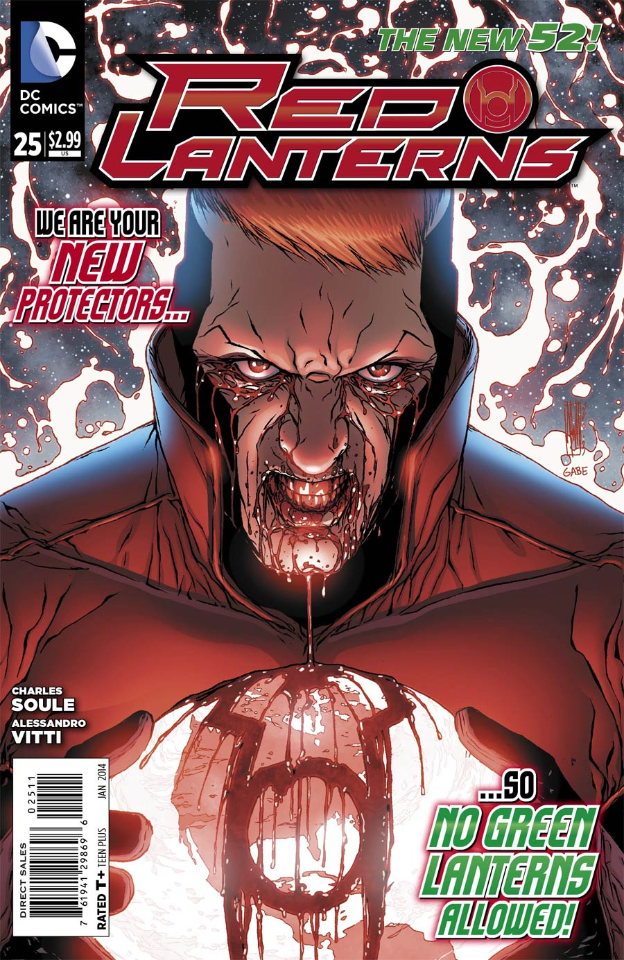 Red Lanterns #25 Cover A Regular Alessandro Vitti Cover