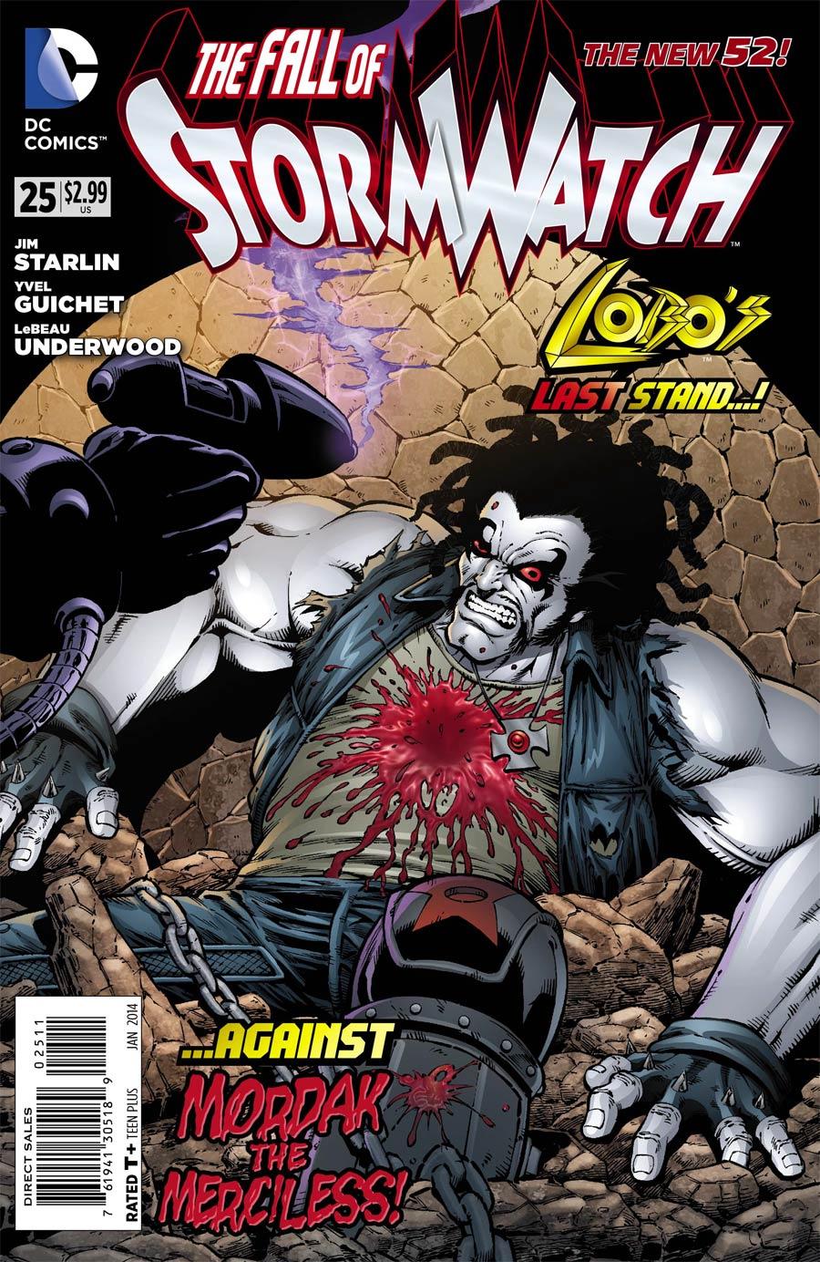 Stormwatch Vol 3 #25