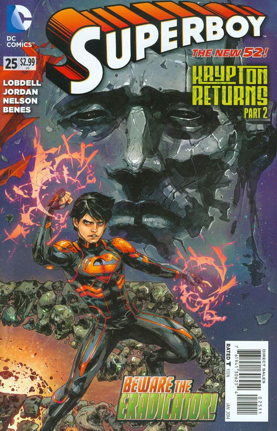 Superboy Vol 5 #25 (Krypton Returns Tie-In)