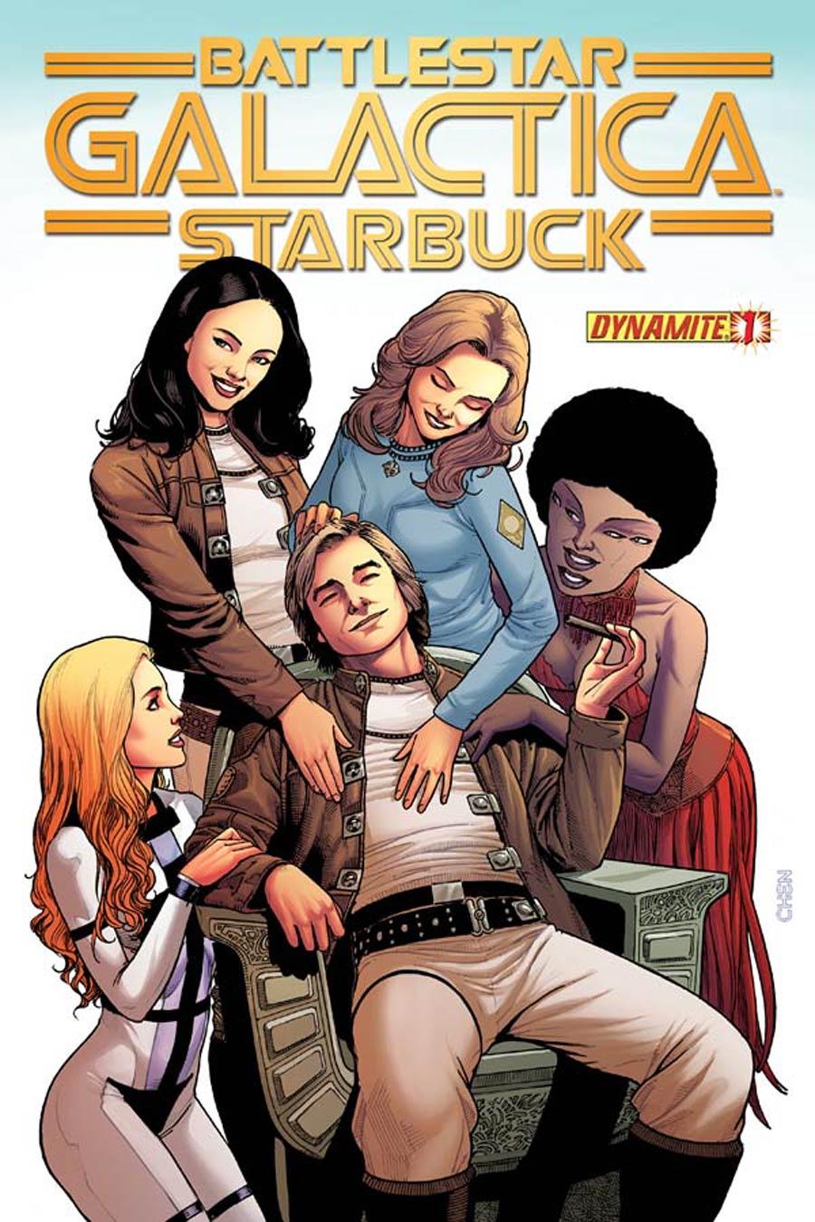 Battlestar Galactica Starbuck Vol 2 #1