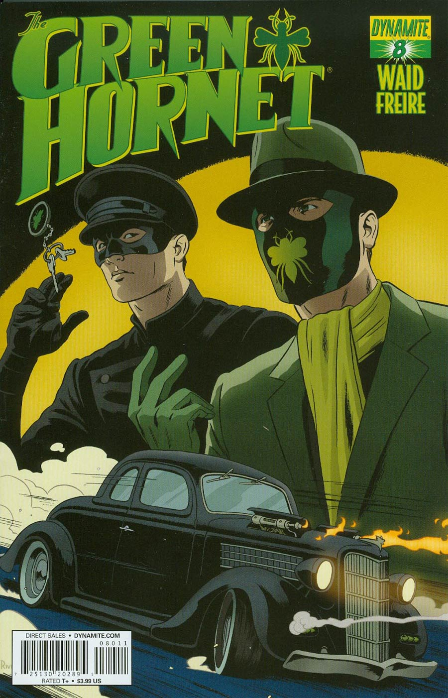 Mark Waids Green Hornet #8 Cover A Regular Paolo Rivera Cover