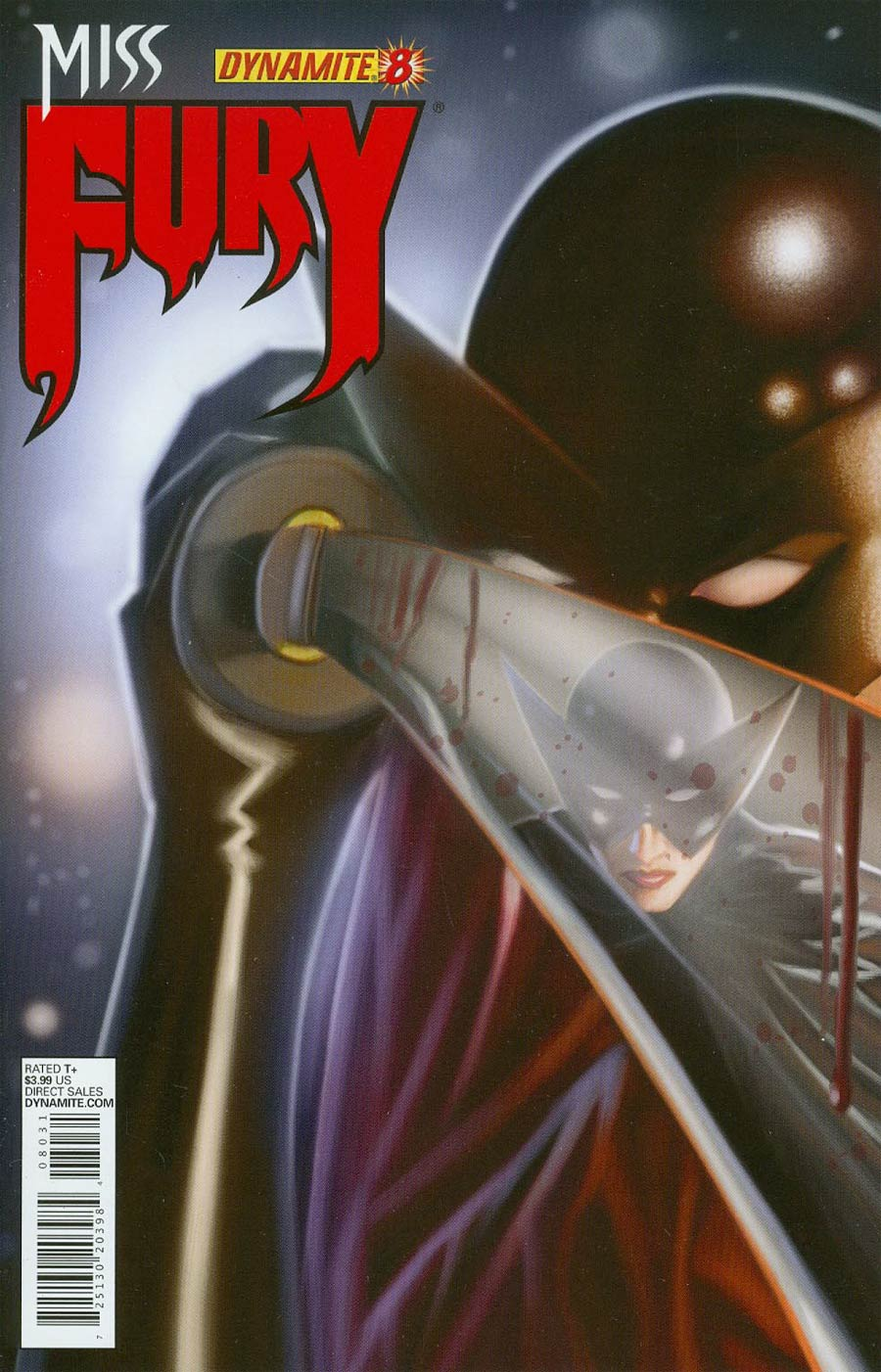Miss Fury Vol 2 #8 Cover C Regular Colton Worley Cover