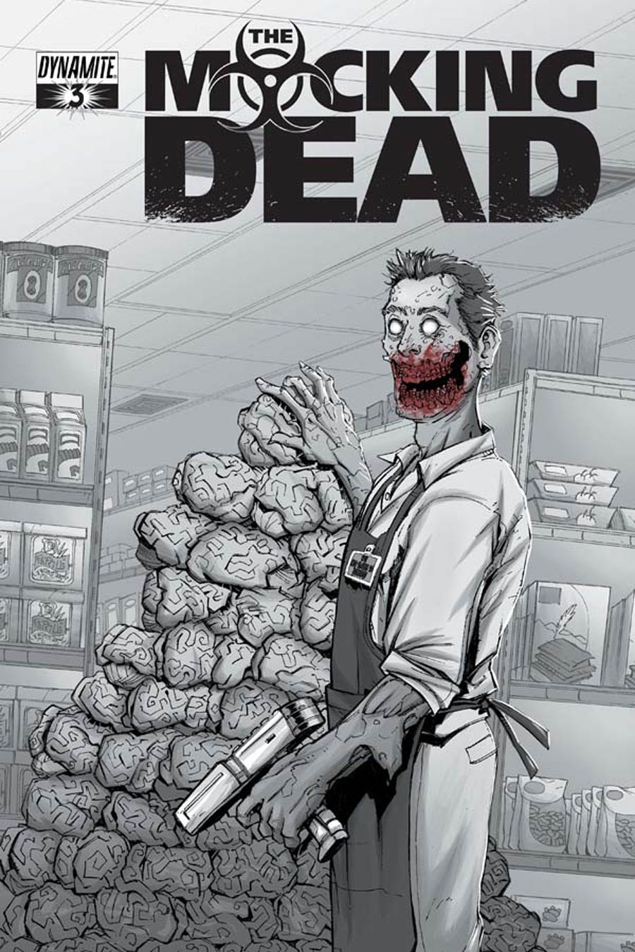 Mocking Dead #3 Cover B Variant Max Dunbar Subscription Cover