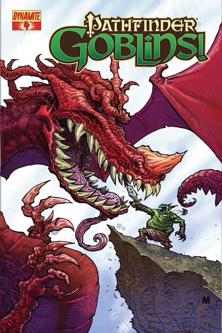 Pathfinder Goblins #4 Cover A Regular Christian Meesey Cover