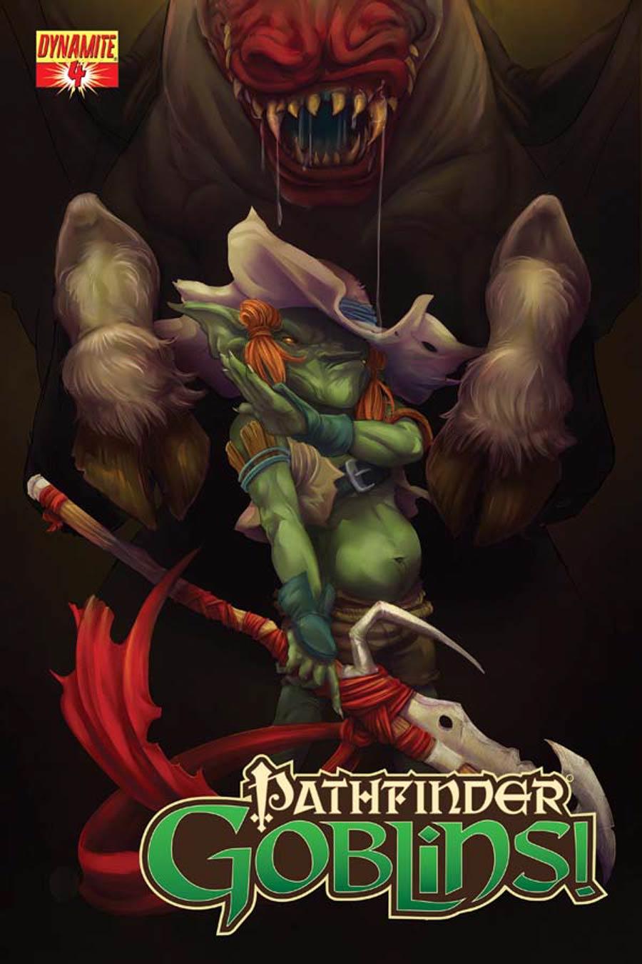 Pathfinder Goblins #4 Cover B Variant Jainai Jeffries Subscription Cover