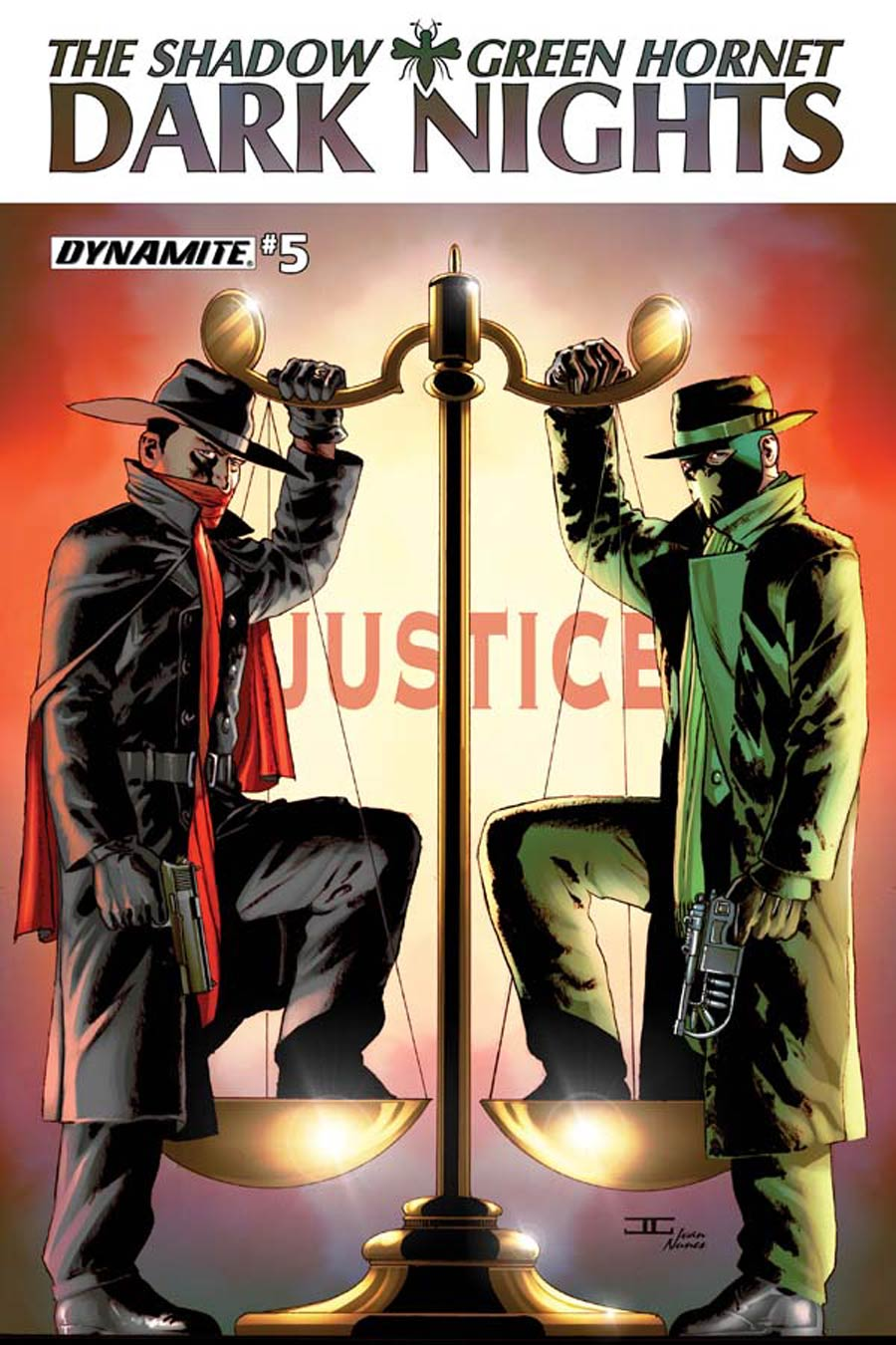 Shadow Green Hornet Dark Nights #5 Cover B Regular John Cassaday Cover