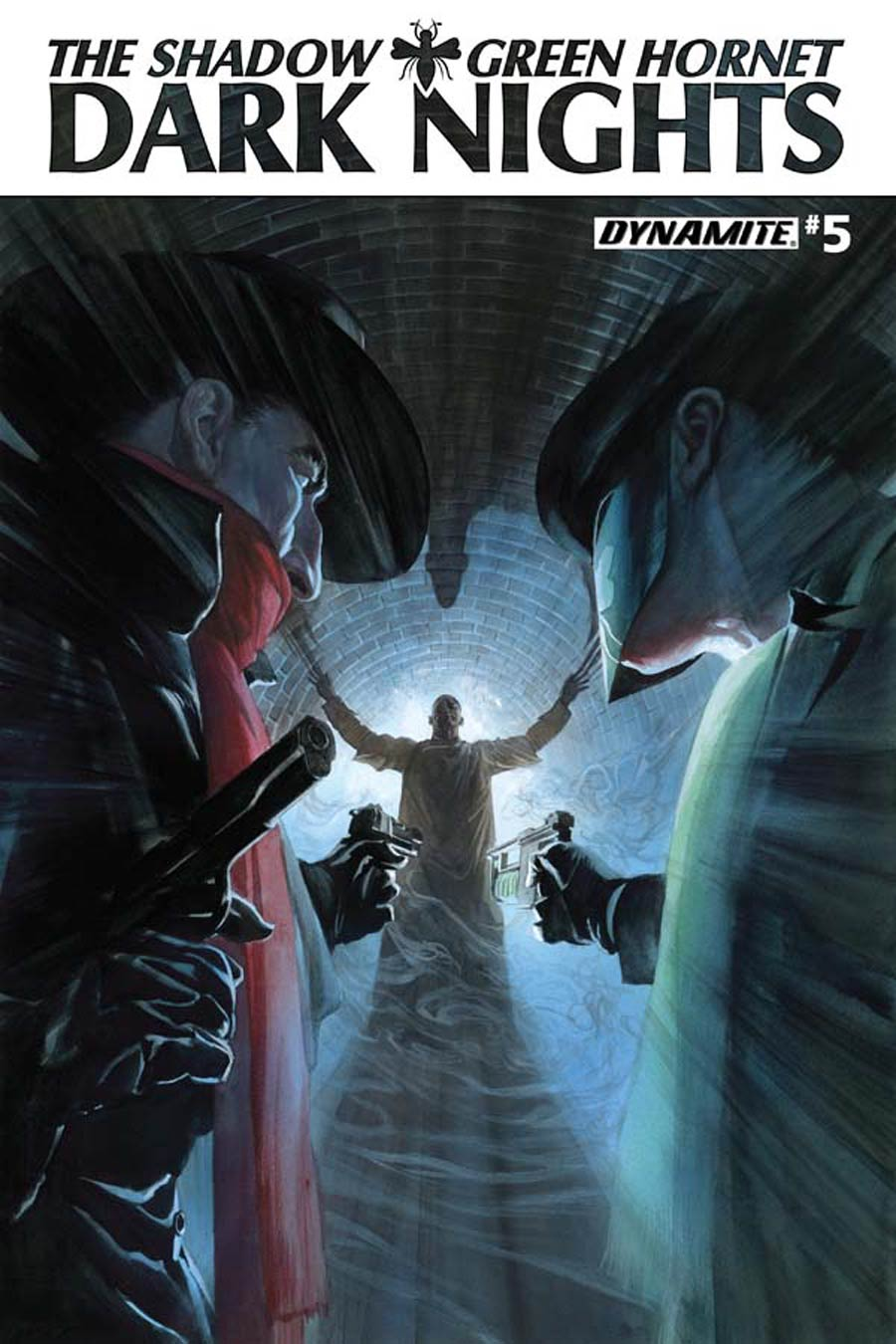 Shadow Green Hornet Dark Nights #5 Cover A Regular Alex Ross Cover