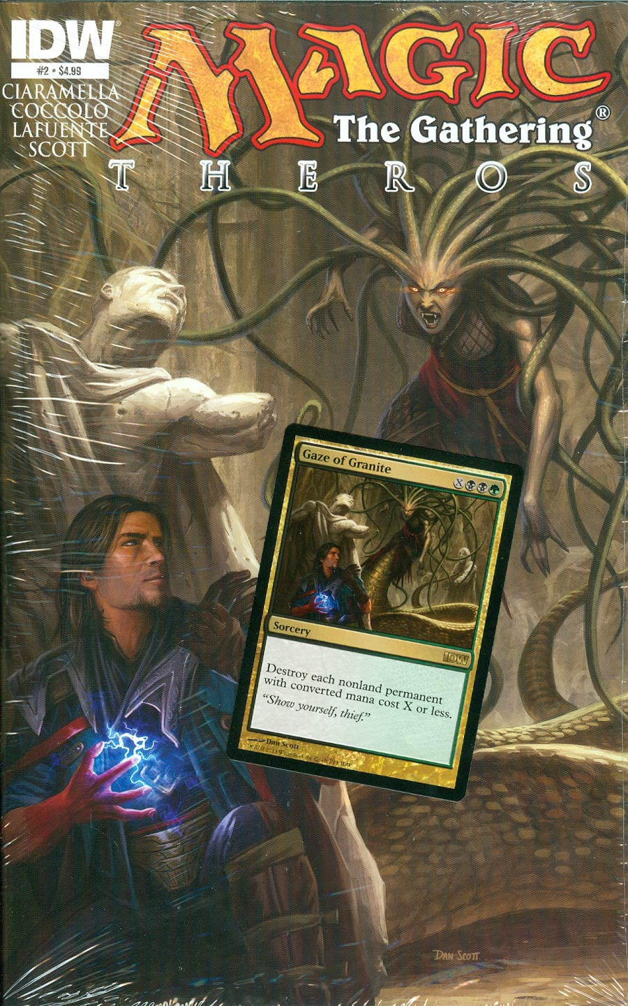 Magic The Gathering Theros #2 Cover A Regular Dan Scott Cover