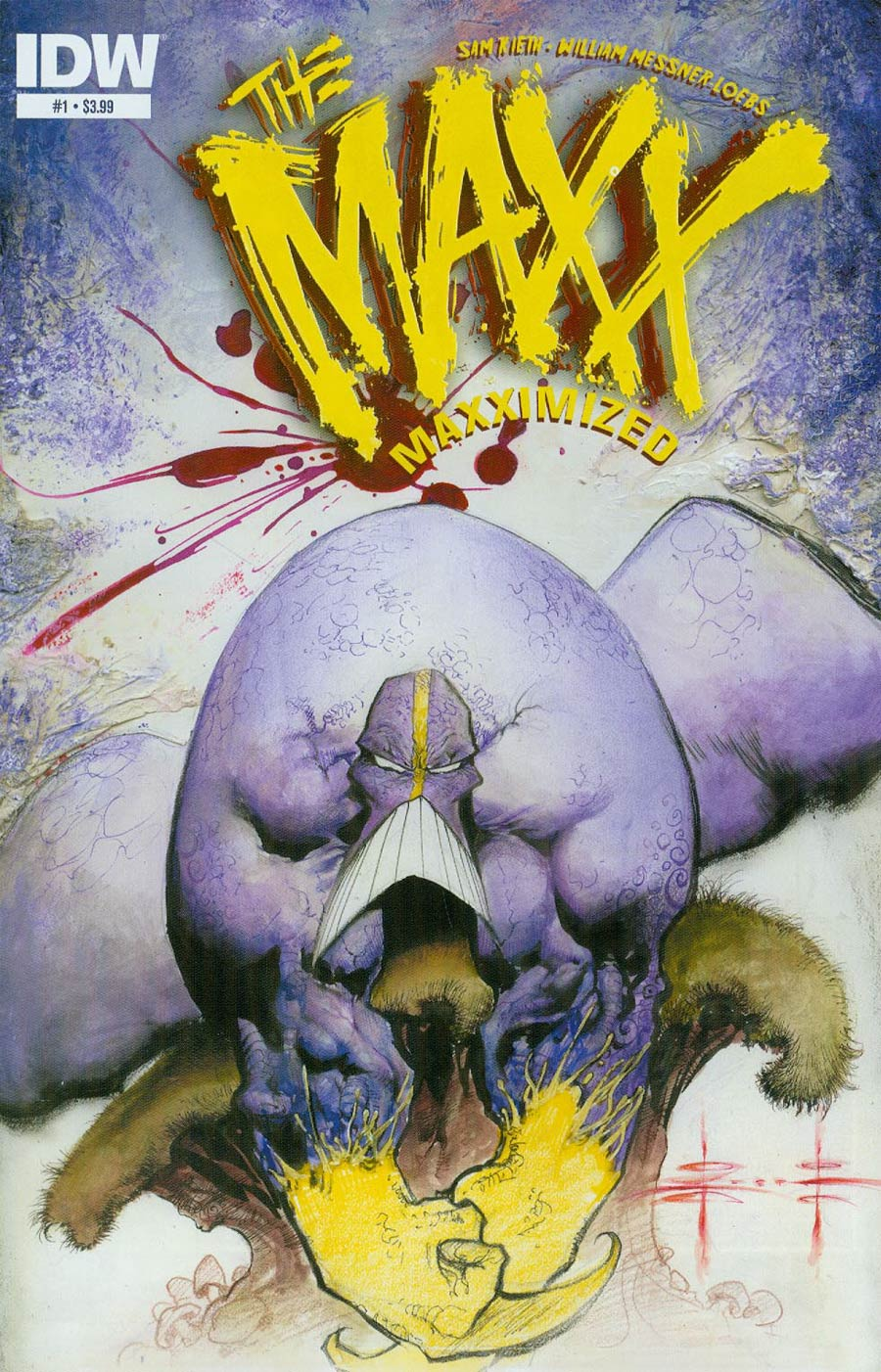 Maxx Maxximized #1 Cover A Regular Sam Kieth Cover