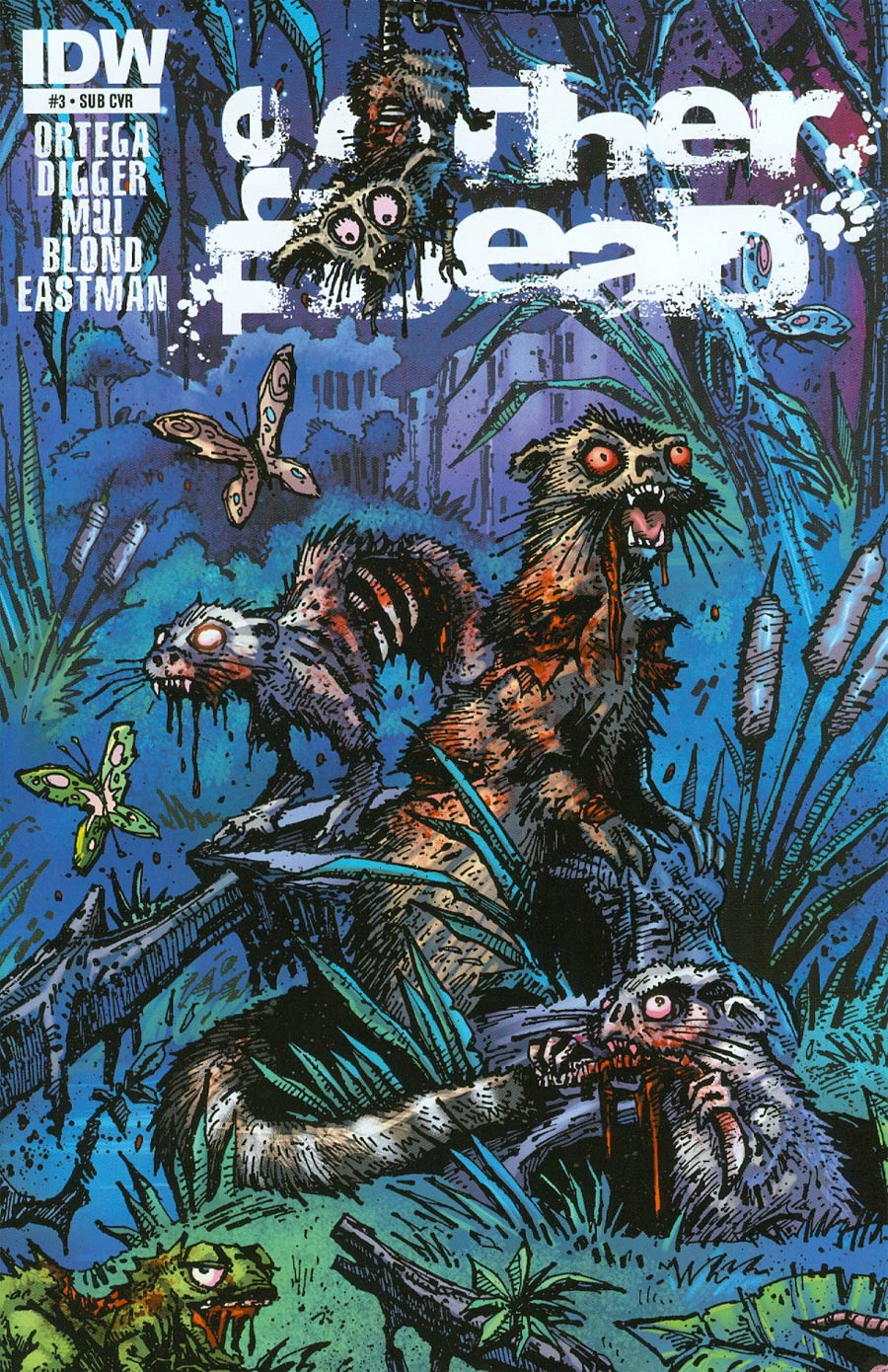 Other Dead #3 Cover B Variant Kevin Eastman Subscription Cover