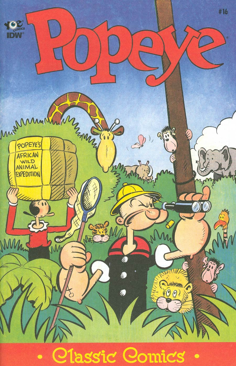 Classic Popeye #16 Cover A Regular Bud Sagendorf Cover
