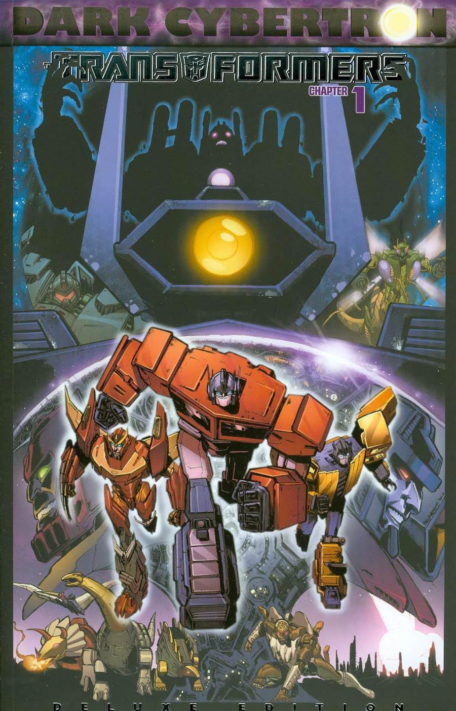 Transformers Dark Cybertron #1 Cover E Deluxe Edition (Dark Cybertron Part 1)