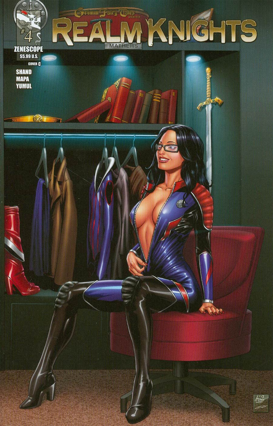 Grimm Fairy Tales Presents Realm Knights #4 Cover C Anthony Spay