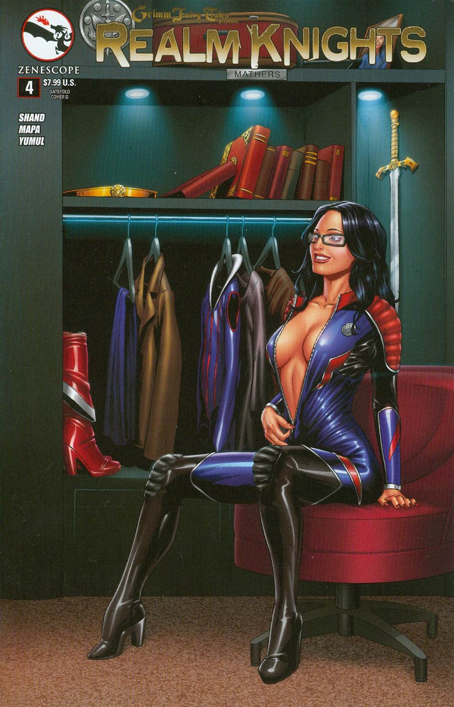 Grimm Fairy Tales Presents Realm Knights #4 Cover D Anthony Spay Gatefold