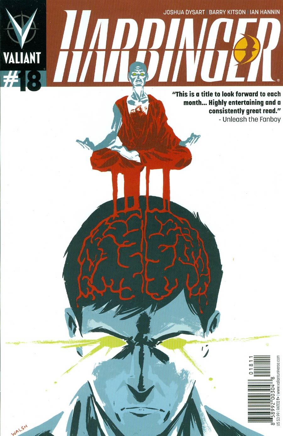 Harbinger Vol 2 #18 Cover A Regular Michael Walsh Cover
