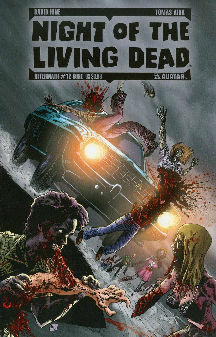 Night Of The Living Dead Aftermath #12 Cover C Gore Cover