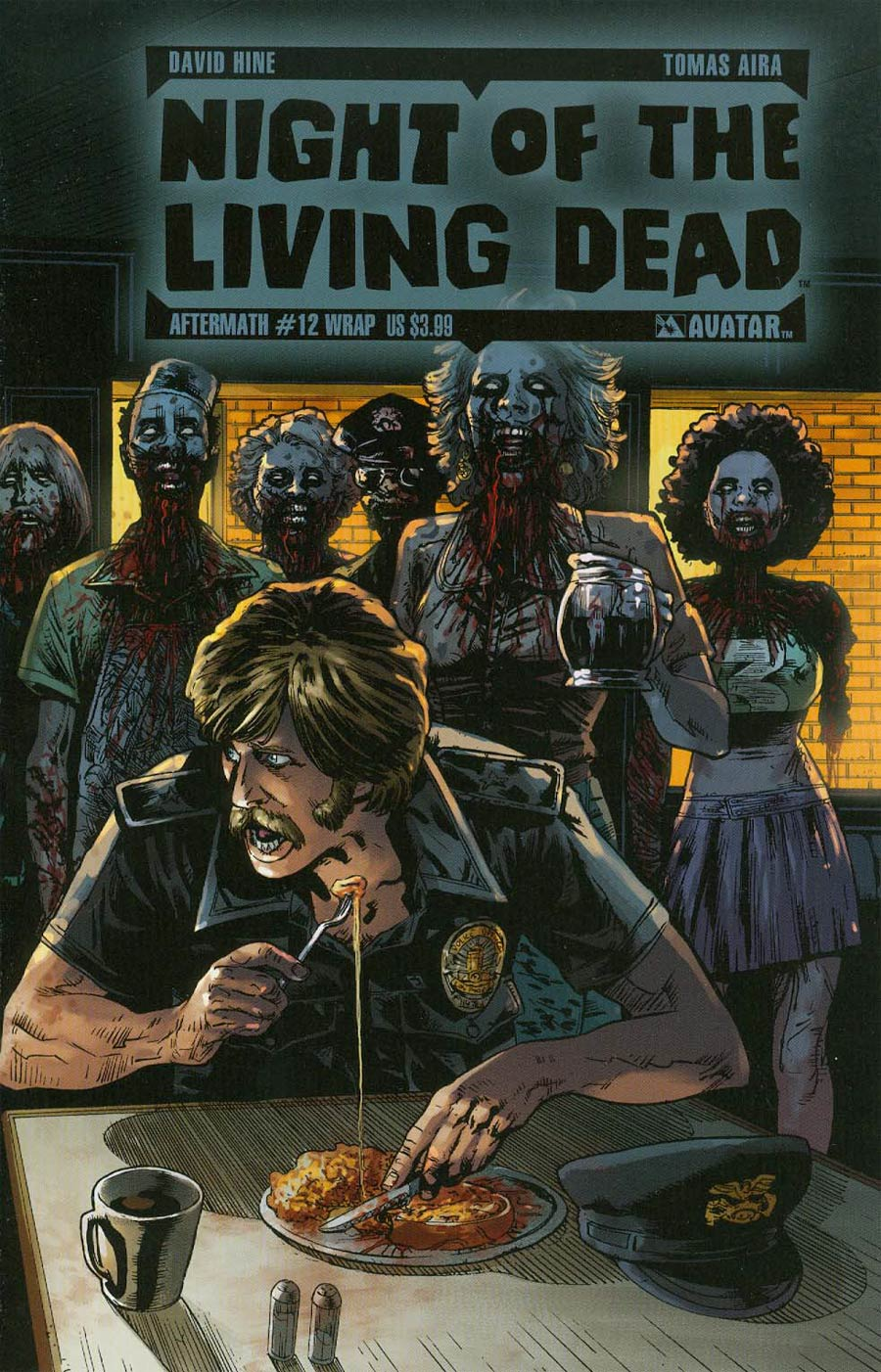 Night Of The Living Dead Aftermath #12 Cover B Wraparound Cover