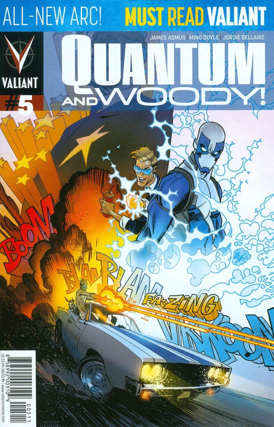 Quantum & Woody Vol 3 #5 Cover A Regular Andrew Robinson Cover