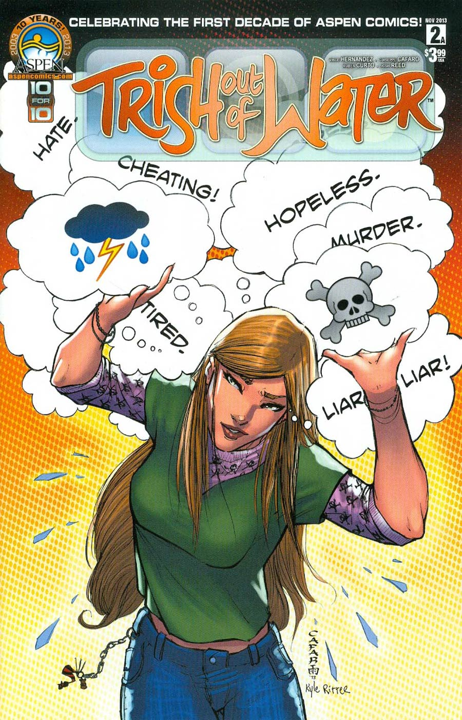 Trish Out Of Water #2 Cover A Regular Direct Market Cover