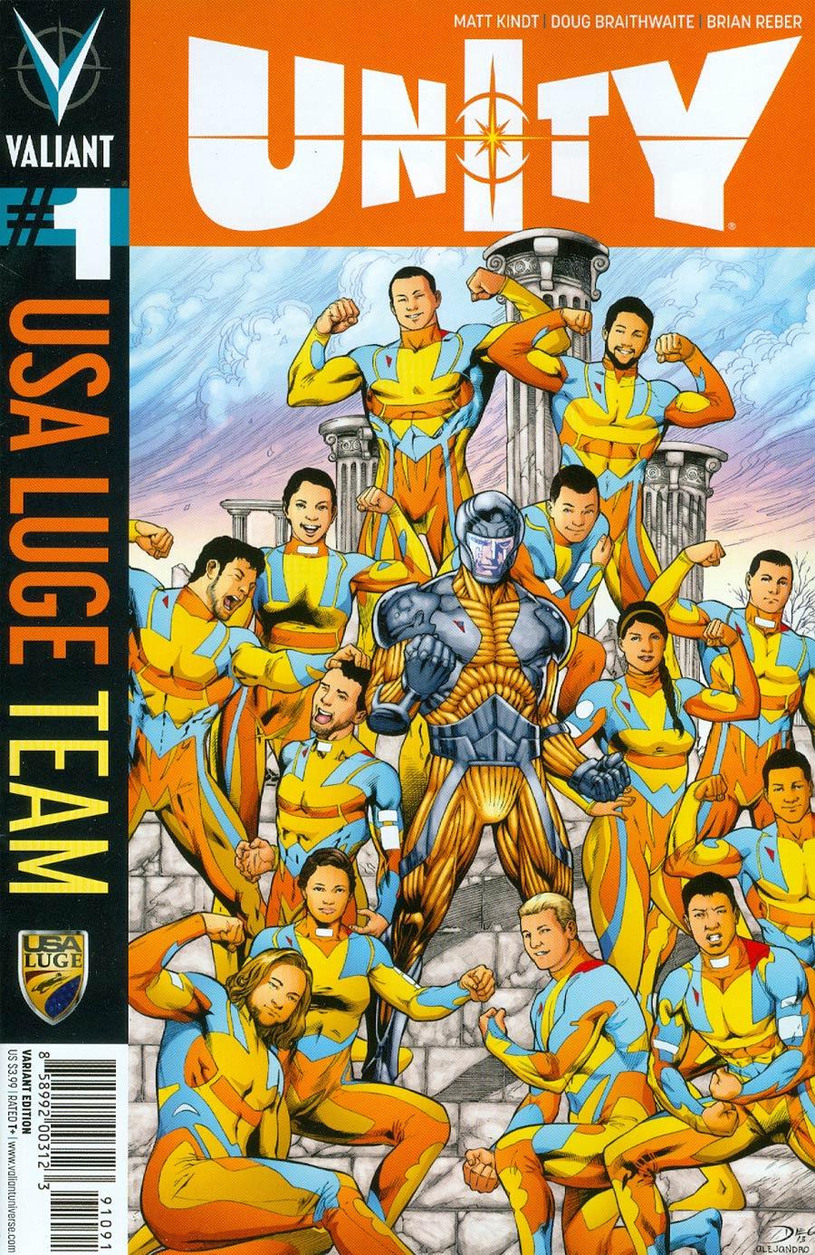 Unity Vol 2 #1 Cover I Variant Team USA Cover