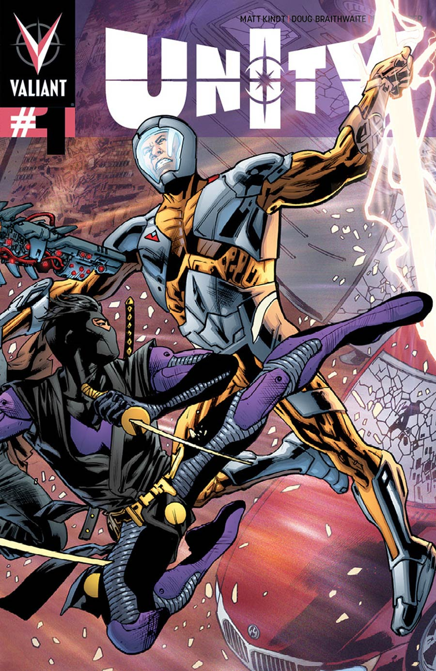 Unity Vol 2 #1 Cover C Variant Bryan Hitch Pullbox Cover