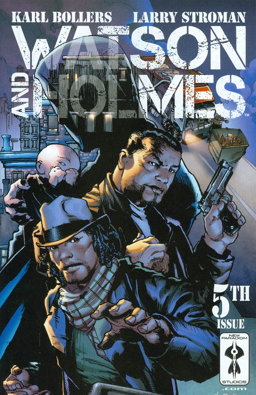 Watson And Holmes #5 Cover A Regular Larry Stroman Cover