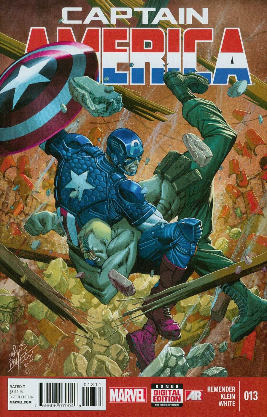 Captain America Vol 7 #13