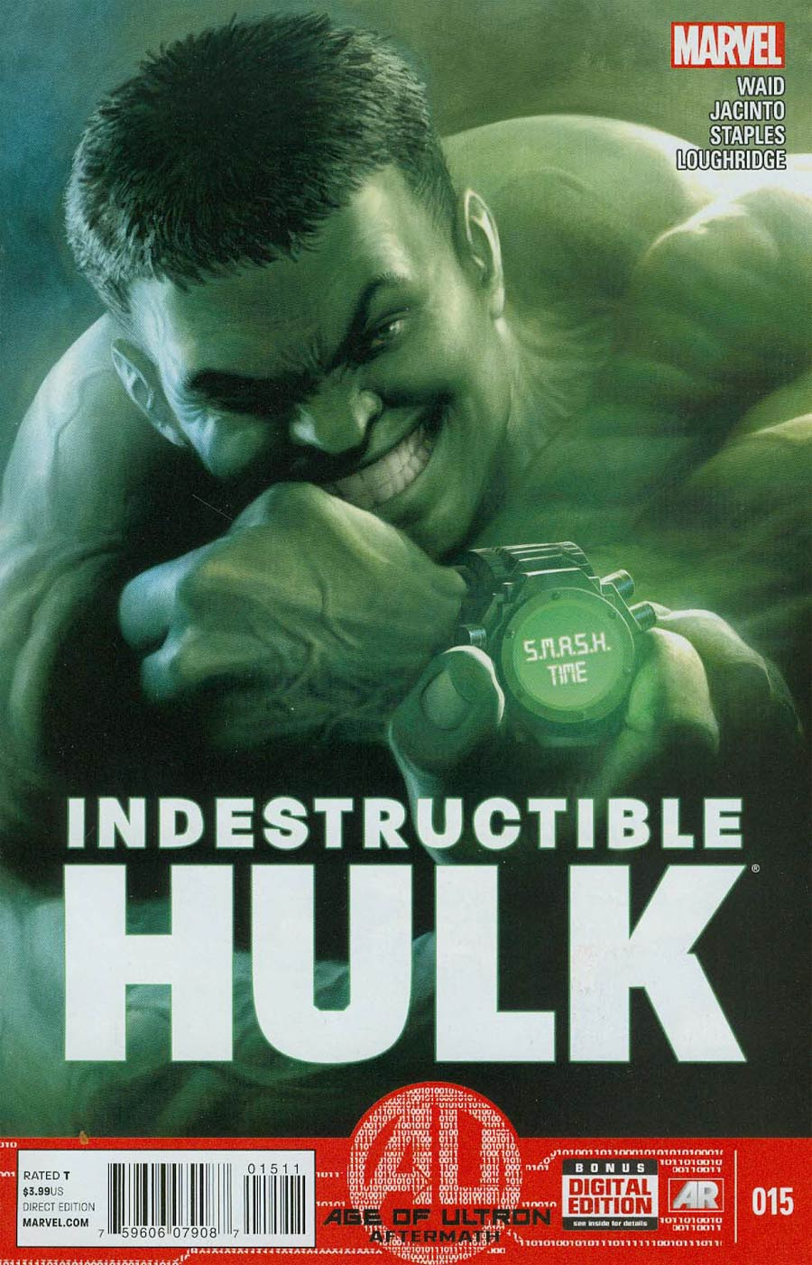 Indestructible Hulk #15 Cover A Regular Mukesh Singh Cover