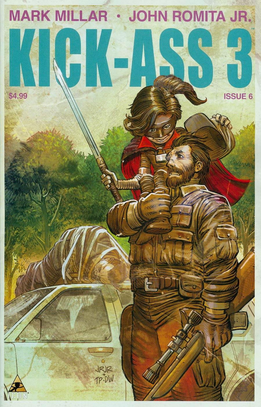 Kick-Ass 3 #6 Cover A Regular John Romita Jr Cover