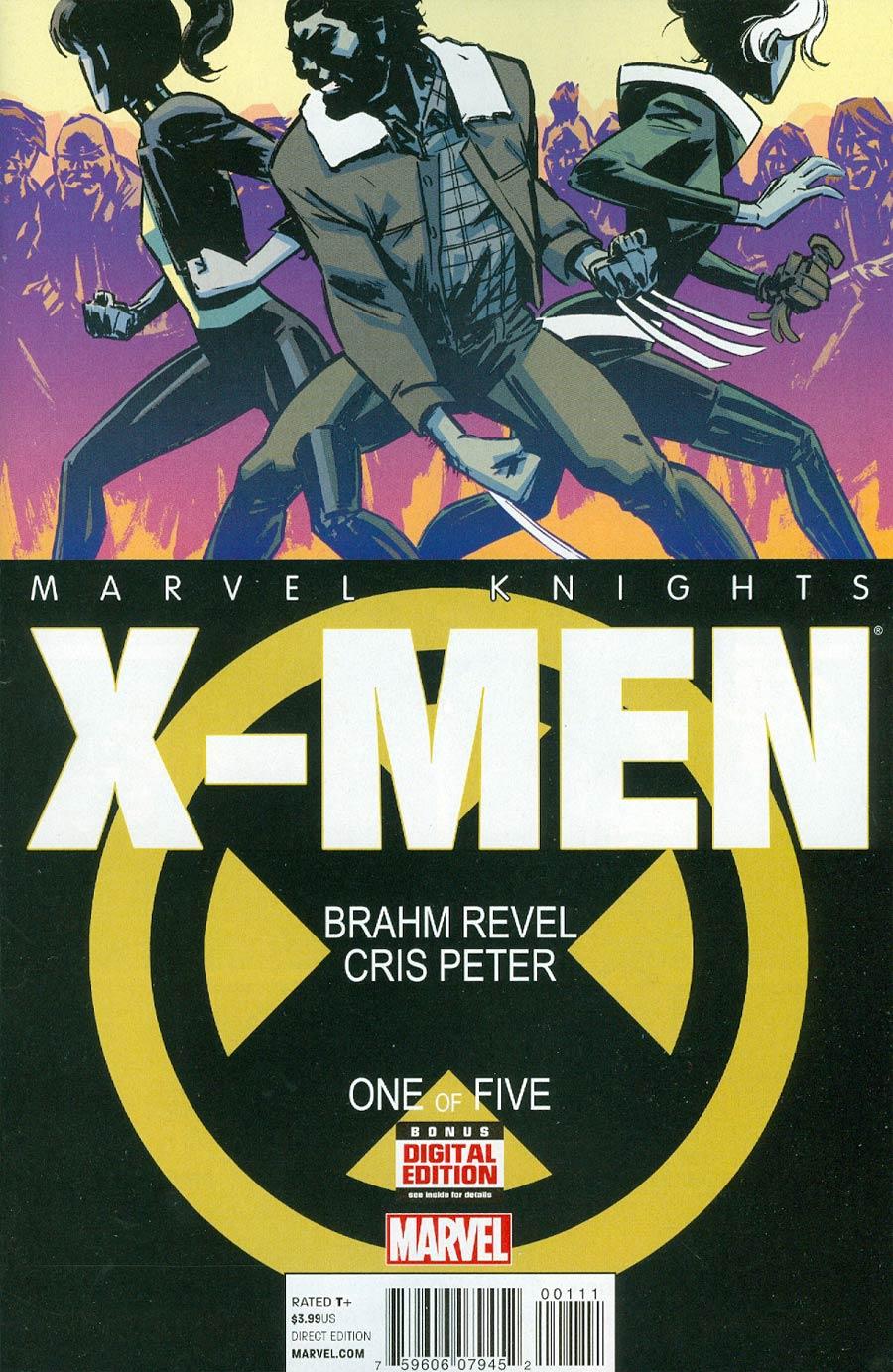 Marvel Knights X-Men #1 Cover A Regular Brahm Revel Cover