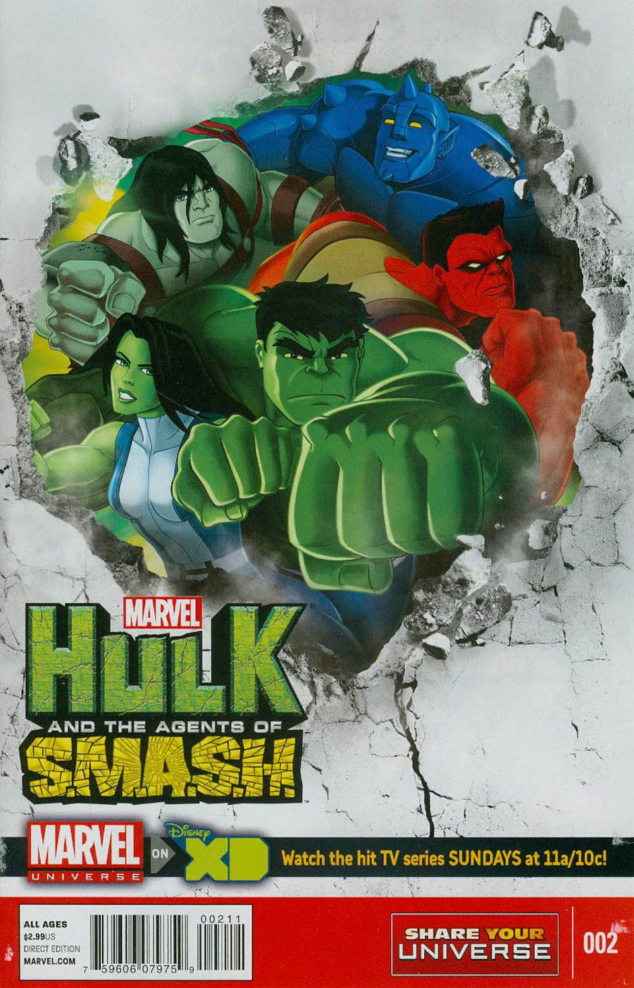 Marvel Universe Hulk And The Agents Of S.M.A.S.H. #2