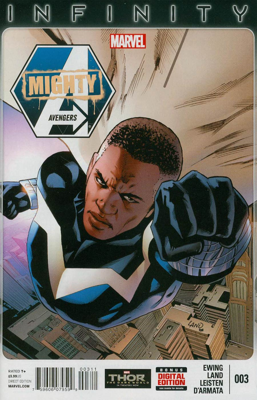 Mighty Avengers Vol 2 #3 Cover A Regular Greg Land Cover (Infinity Tie-In)