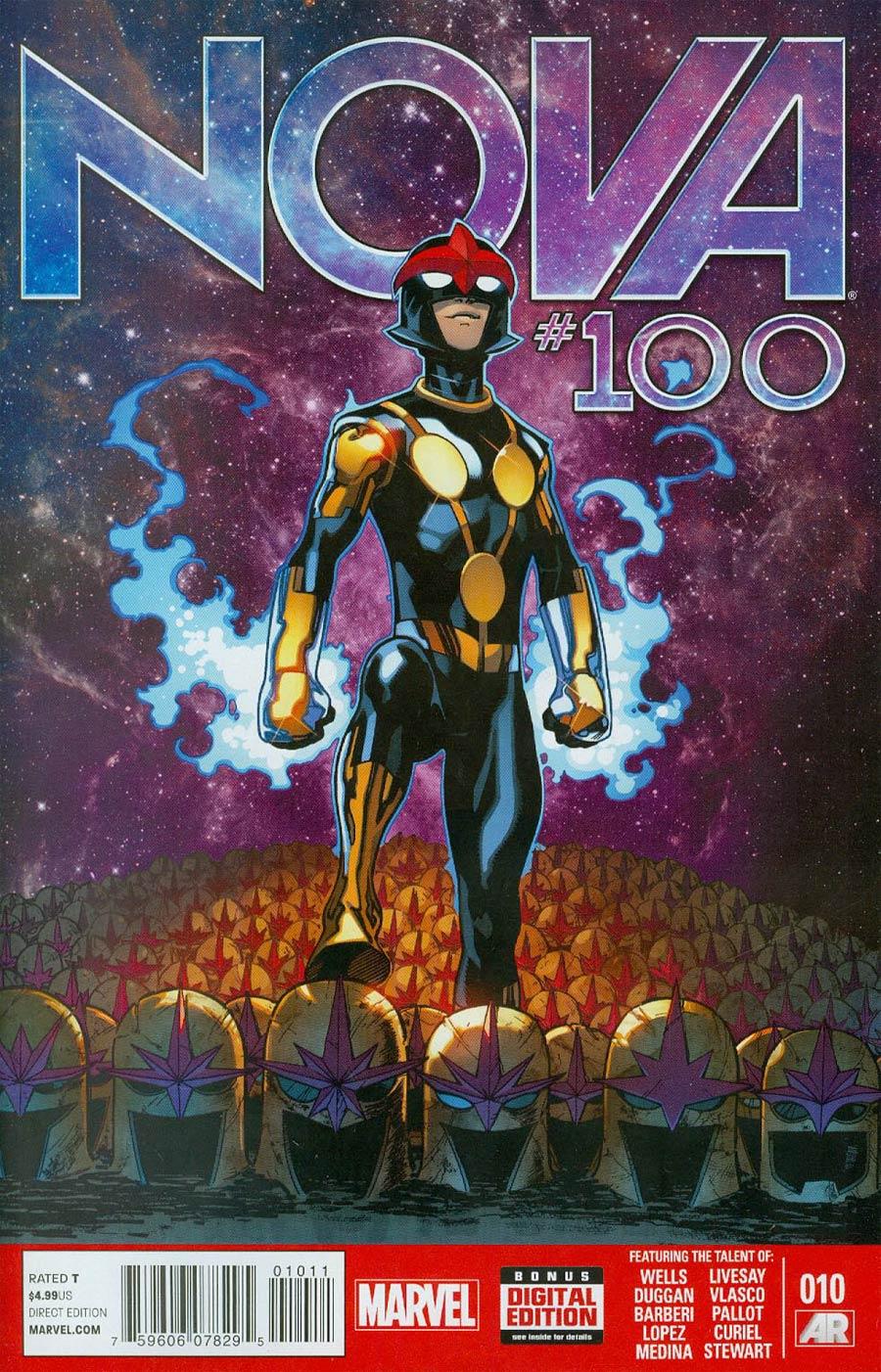 Nova Vol 5 #10 Cover A Regular Ed McGuinness Cover