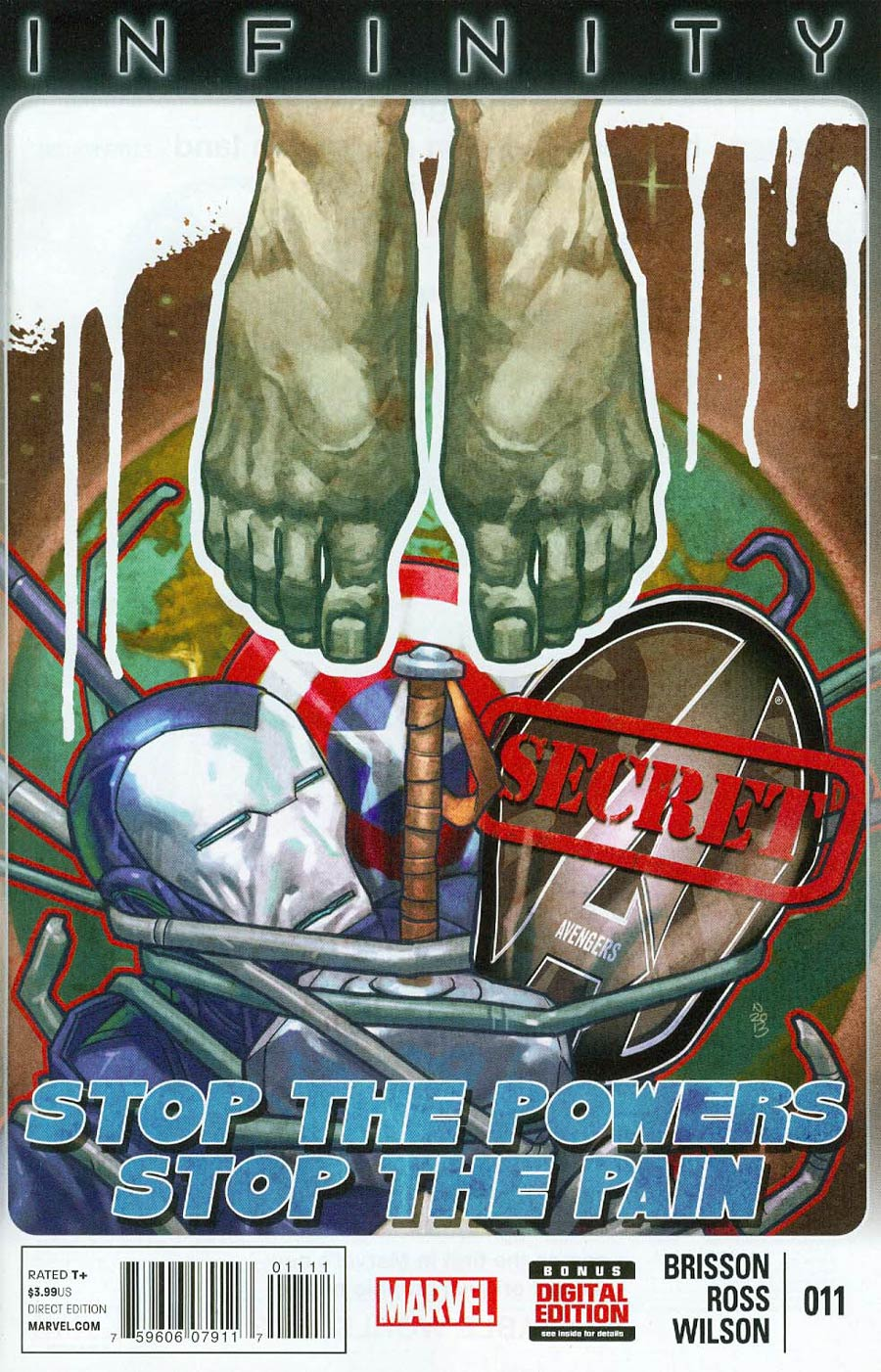 Secret Avengers Vol 2 #11 (Infinity Tie-In)