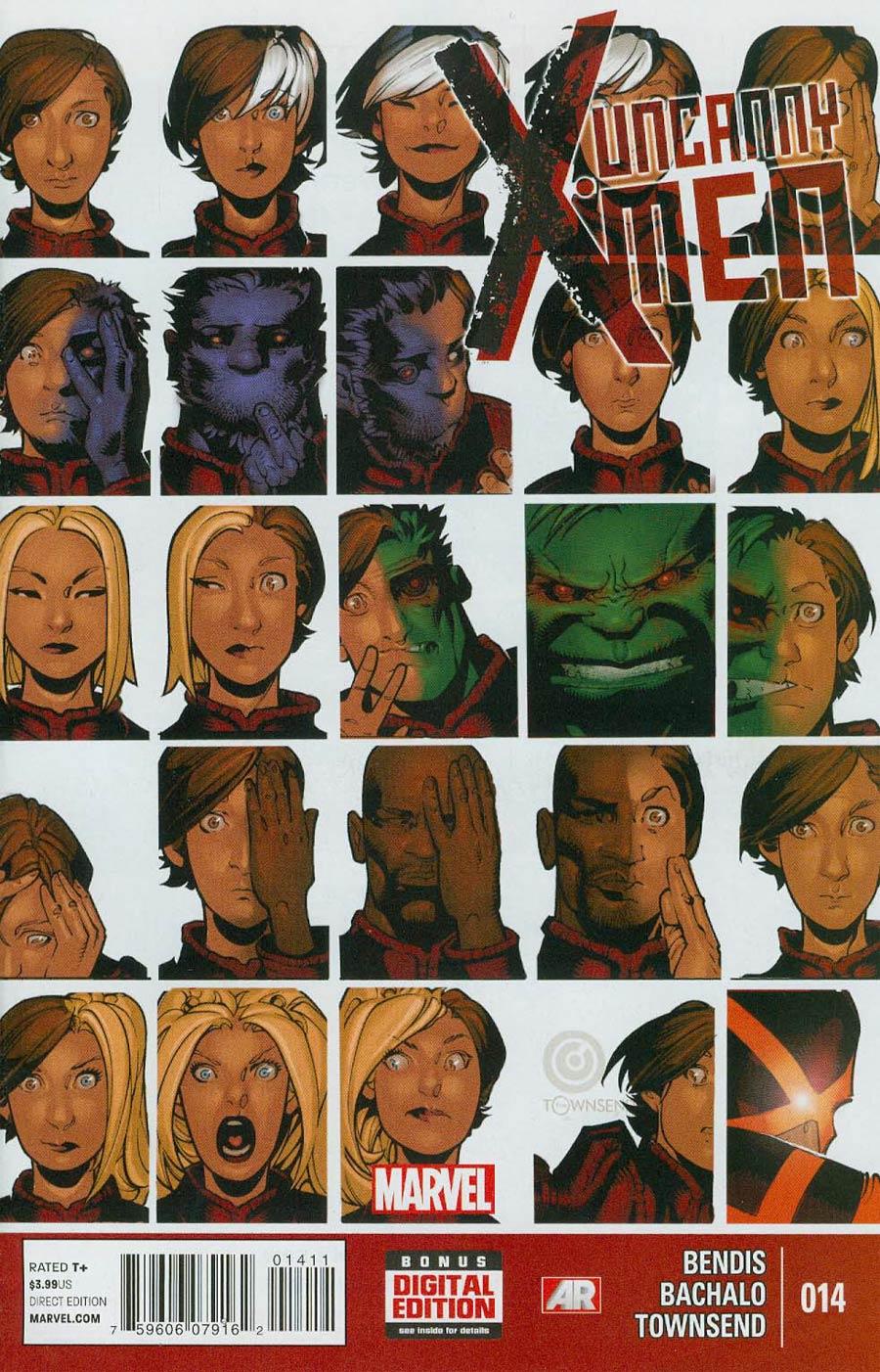 Uncanny X-Men Vol 3 #14 Cover A Regular Chris Bachalo Cover
