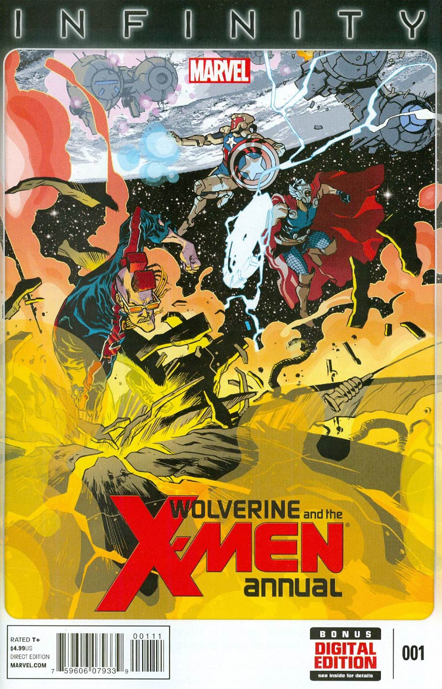 Wolverine And The X-Men Annual #1 (Infinity Tie-In)