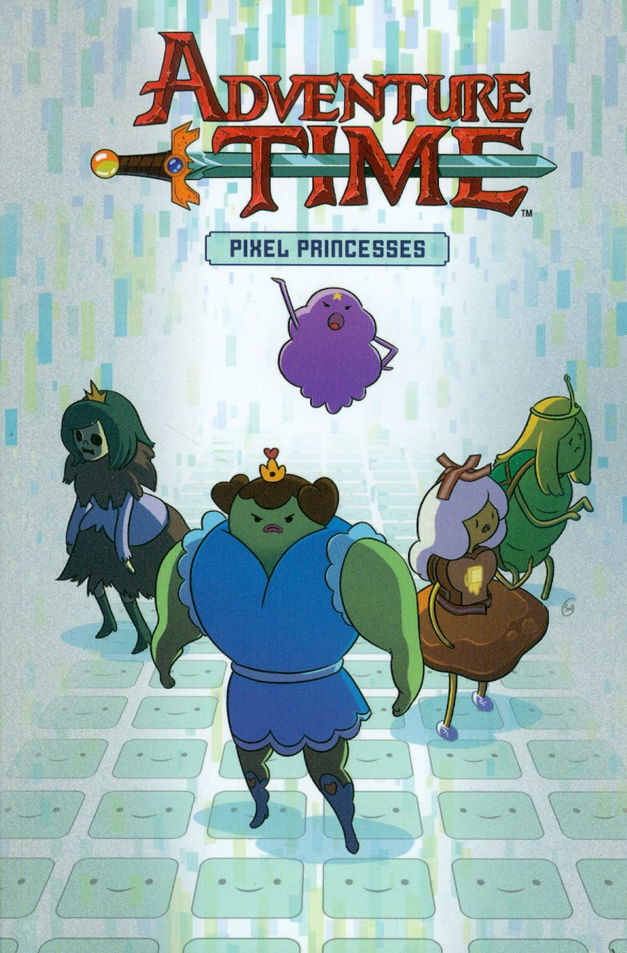 Adventure Time Original Graphic Novel Vol 2 Pixel Princesses GN