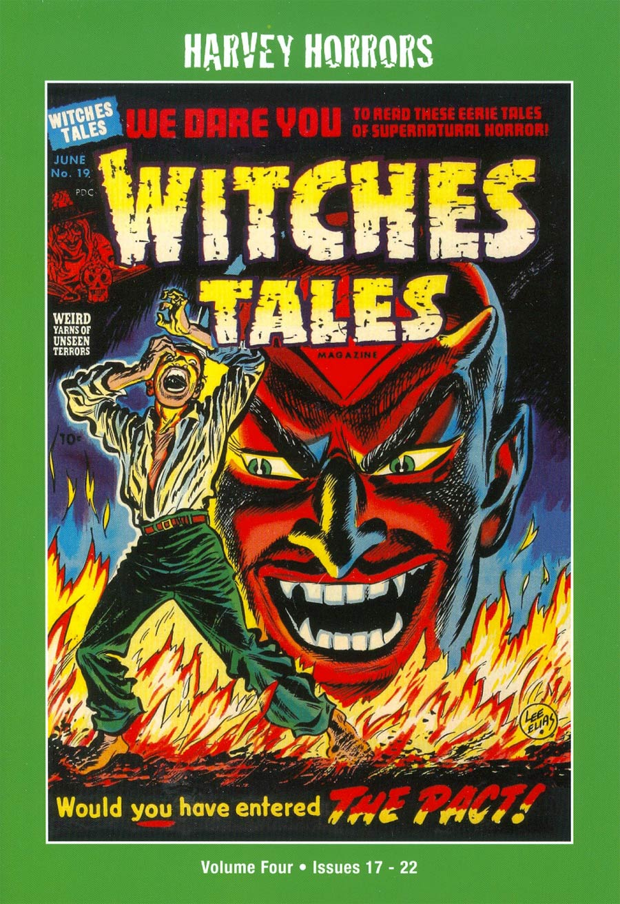 Harvey Horrors Collected Works Witches Tales Softie Vol 4 TP