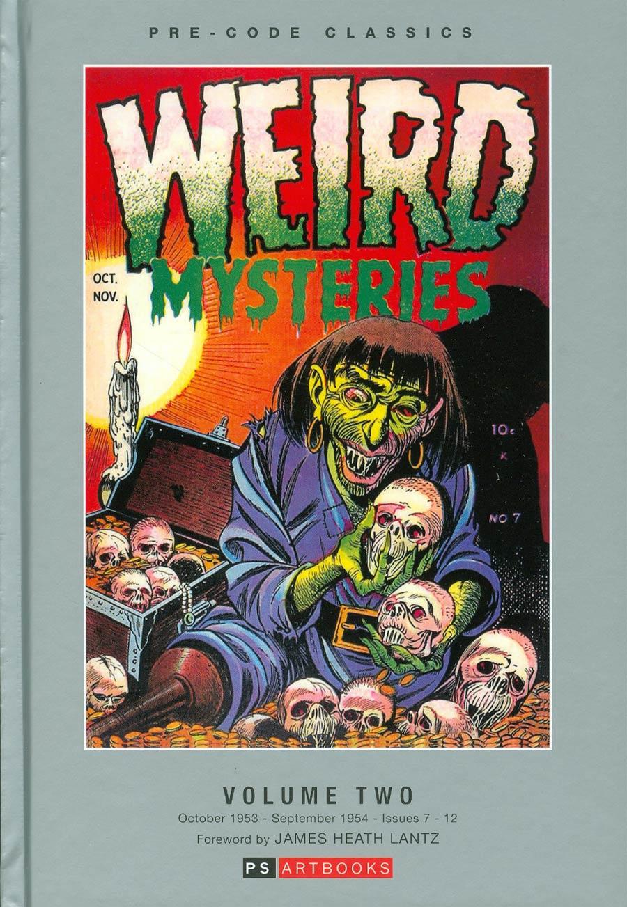 Pre-Code Classics Weird Mysteries Vol 2 HC