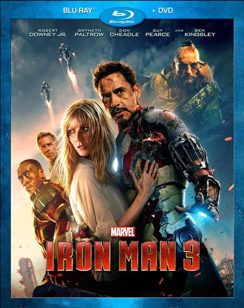 Iron Man 3 2-Disc Blu-ray DVD