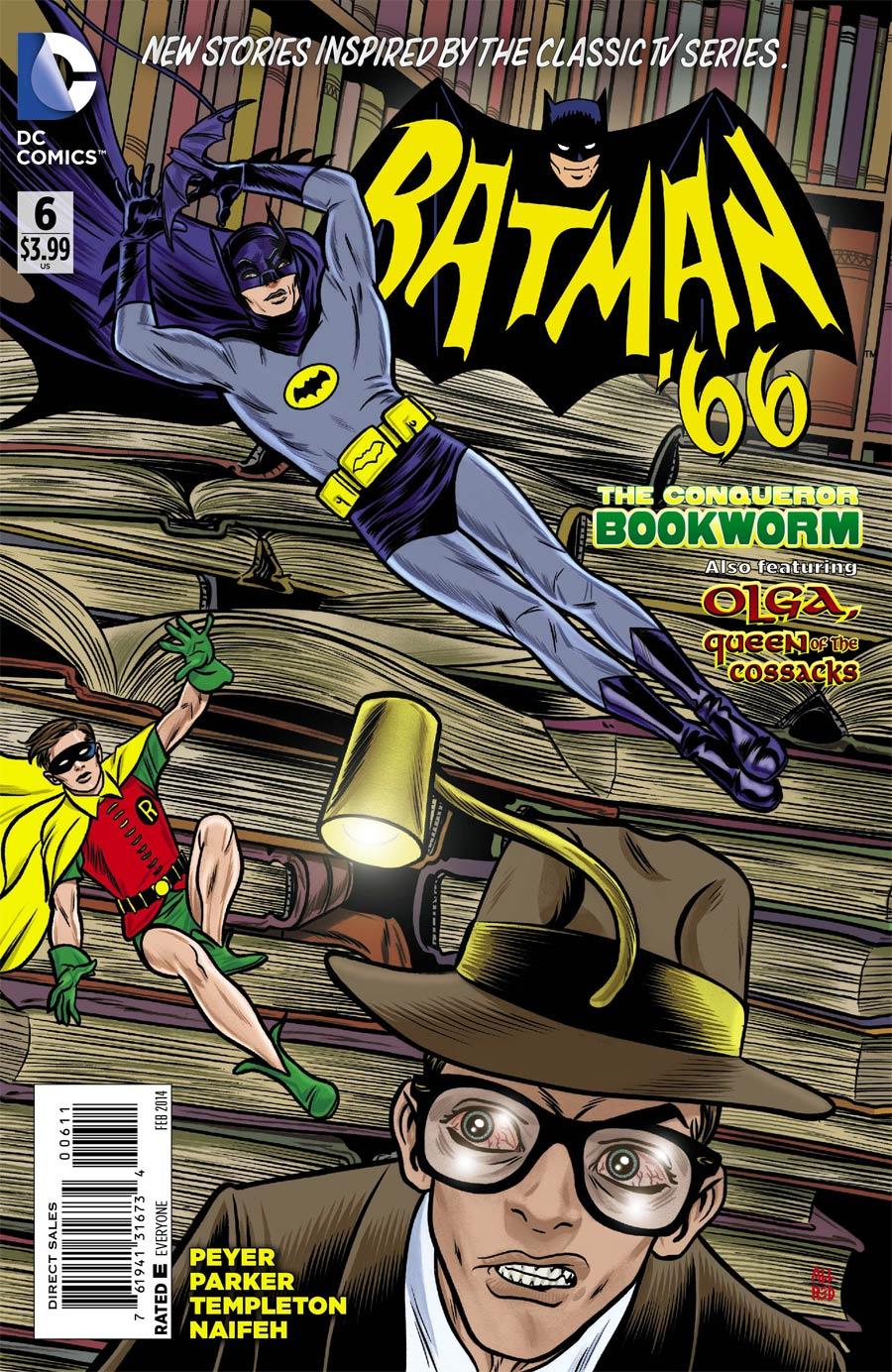 Batman 66 #6 Cover A Regular Mike Allred Cover