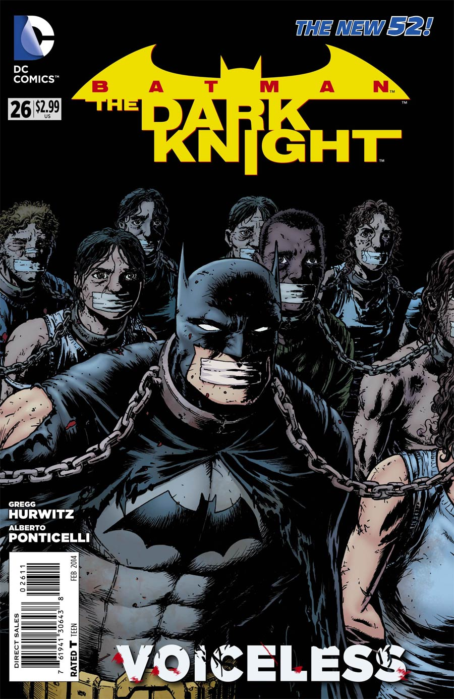 Batman The Dark Knight Vol 2 #26 Cover A Regular Chris Burnham Cover